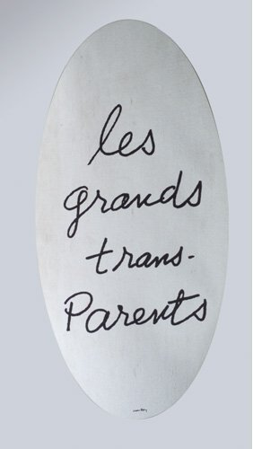 "22: Man Ray Mirror ""Le grands trans-Parents"" Simon Inte"