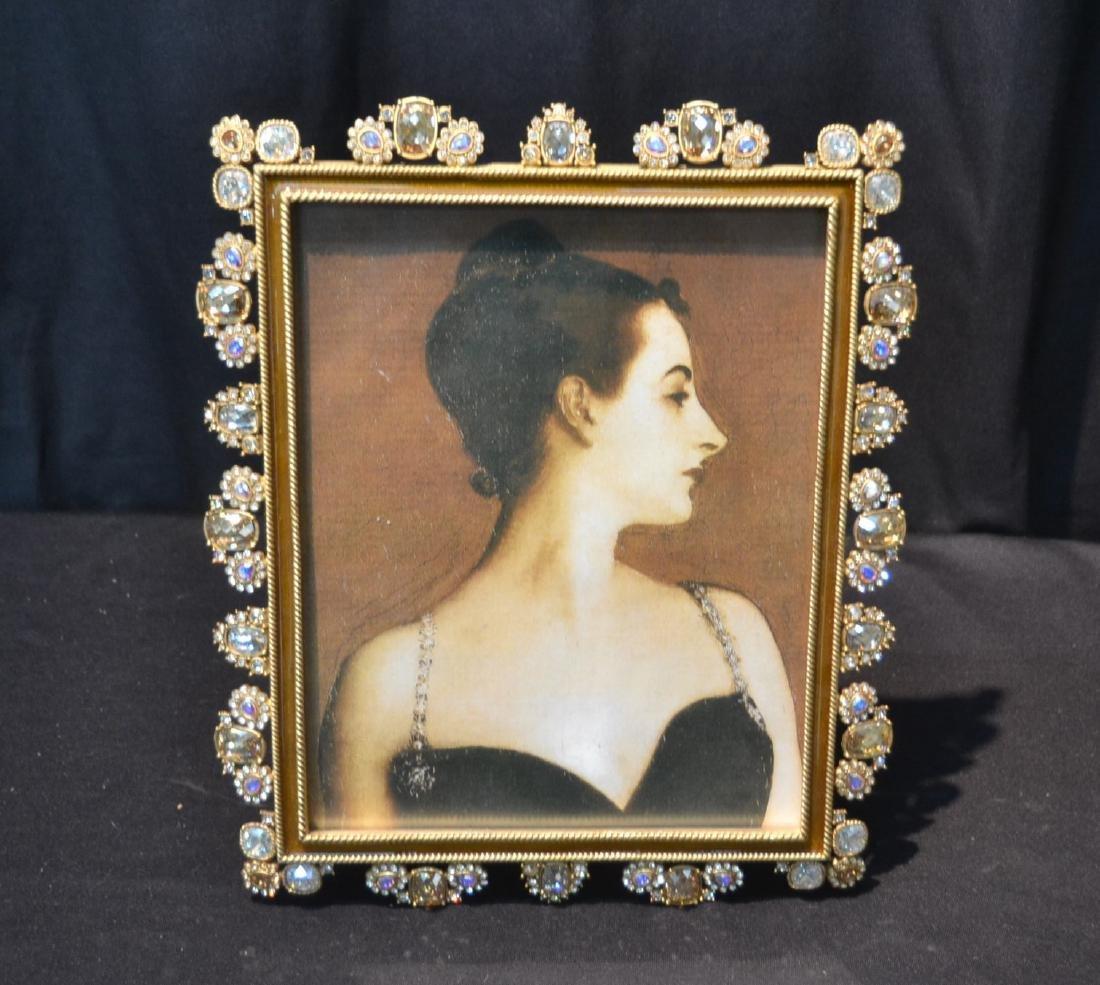 JAY STRONGWATER YOLANDA GOLD PEARL ENAMELED
