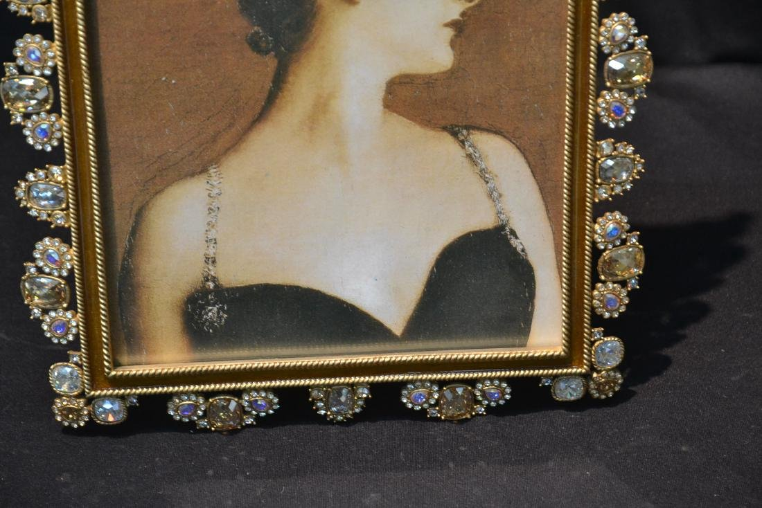 JAY STRONGWATER YOLANDA GOLD PEARL ENAMELED - 4