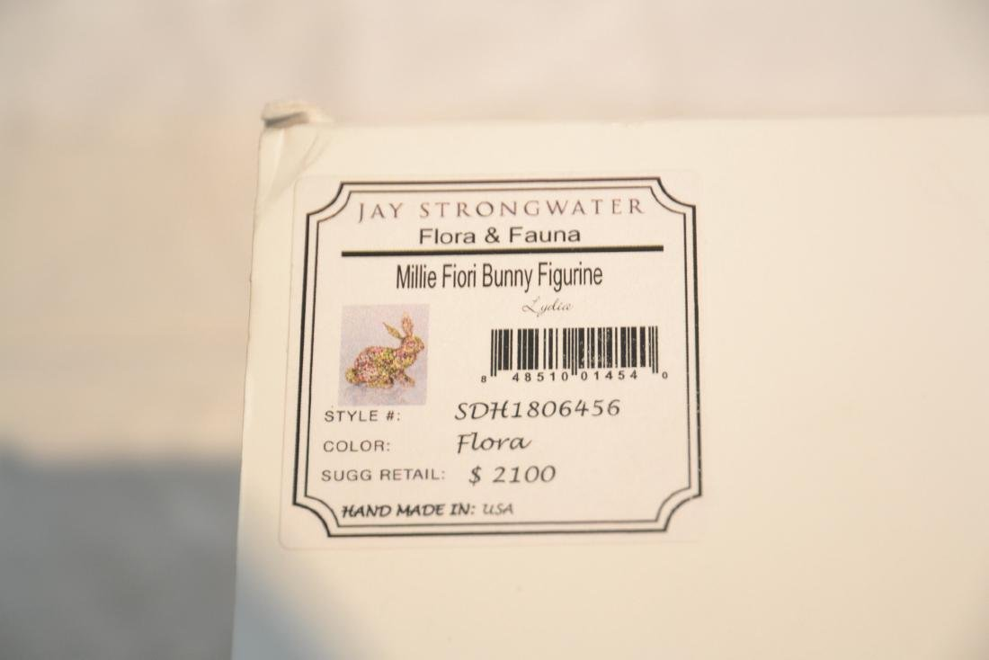 JAY STRONGWATER , ENAMELED FLORA & FAUNA JEWELED - 9