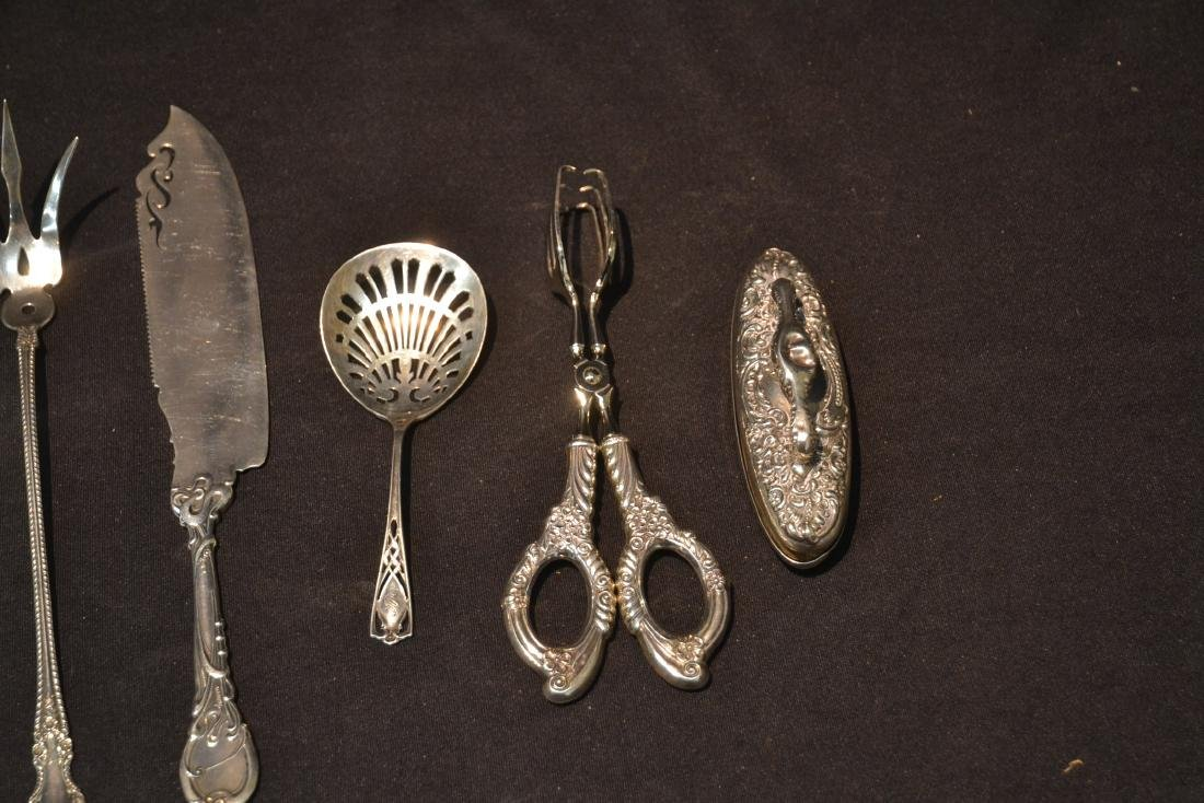 (9)pc STERLING SILVER LOT CONSISTING OF SPOONS - 3
