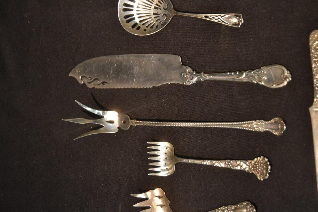 (9)pc STERLING SILVER LOT CONSISTING OF SPOONS - 4