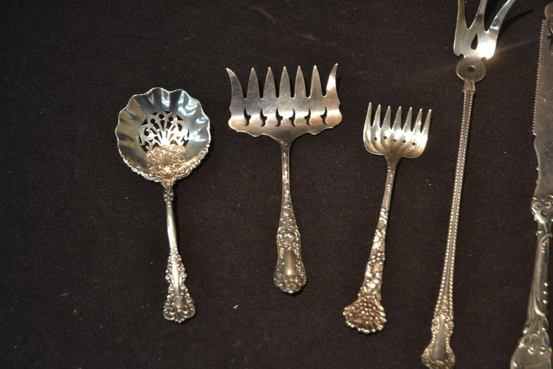 (9)pc STERLING SILVER LOT CONSISTING OF SPOONS - 5