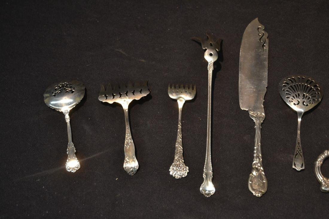 (9)pc STERLING SILVER LOT CONSISTING OF SPOONS - 8