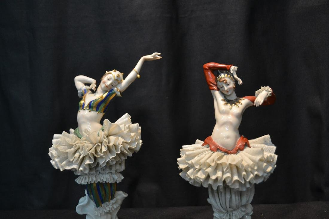 (Pr) FRENCH CAPODIMONTE DANCERS WITH - 2