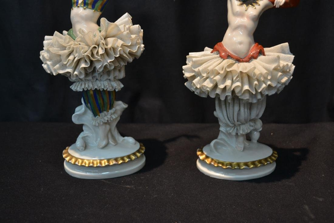 (Pr) FRENCH CAPODIMONTE DANCERS WITH - 3