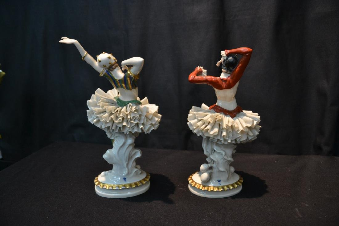 (Pr) FRENCH CAPODIMONTE DANCERS WITH - 6