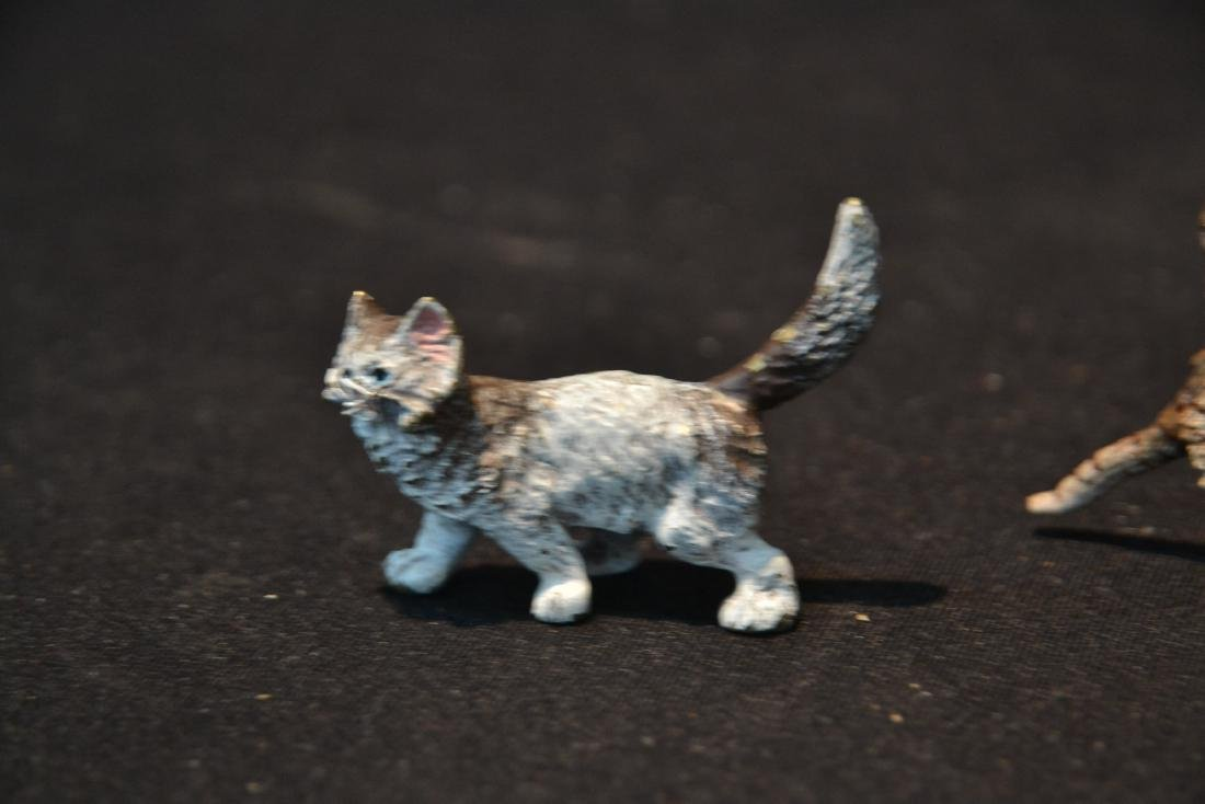 ASSORTED COLD PAINTED BRONZE MINIATURES - 5