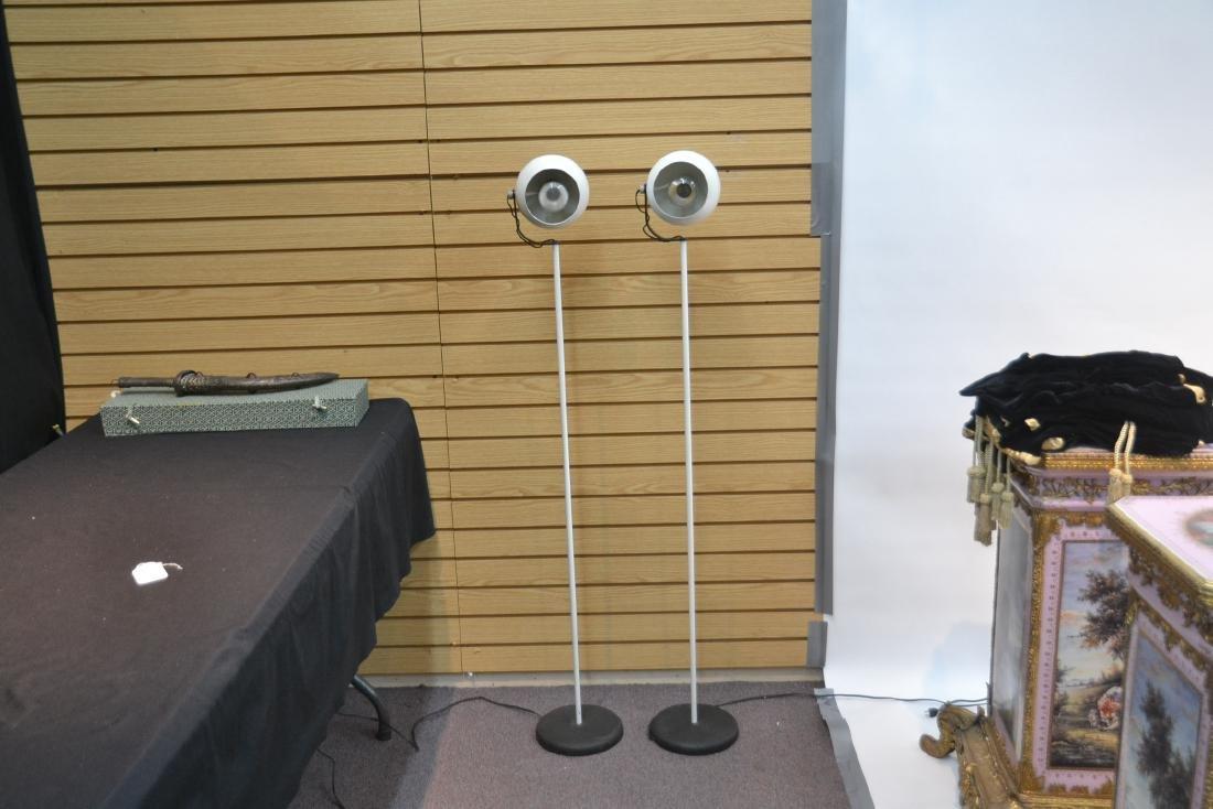 (Pr) SONNEMAN WHITE FLOOR SPOTLIGHT LAMPS - 3