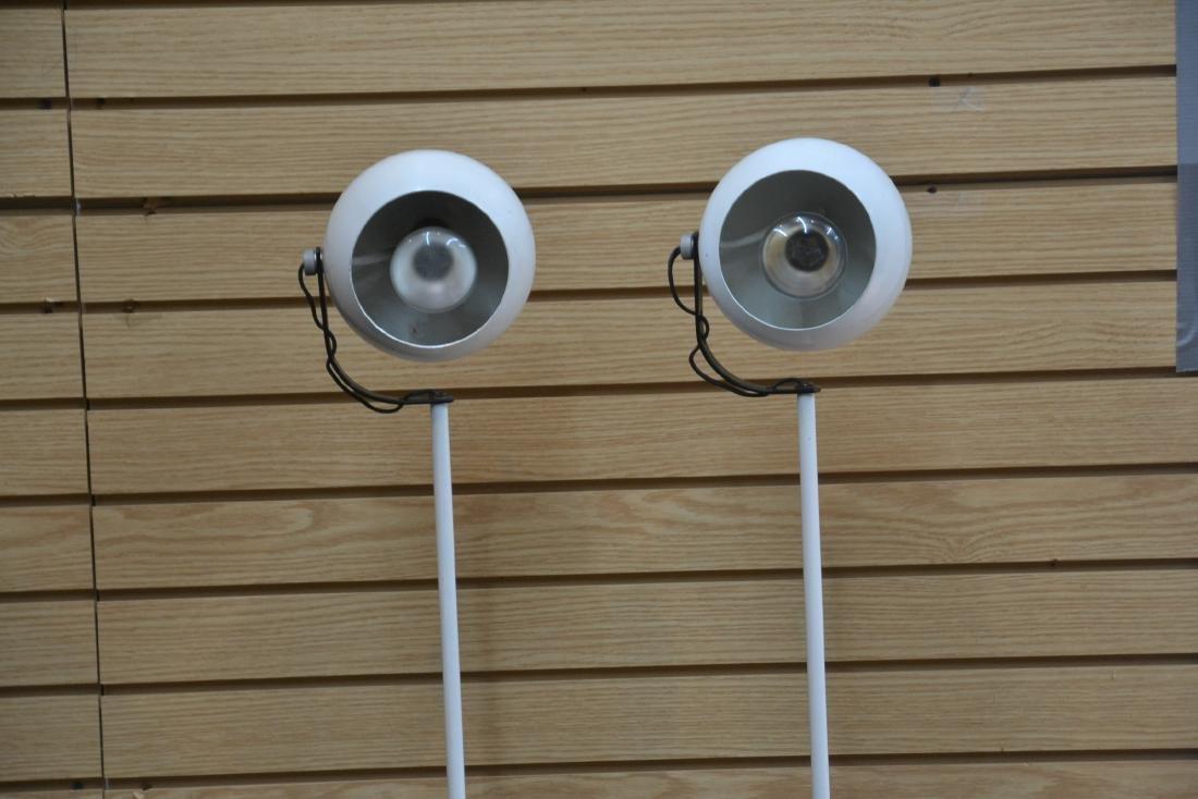 (Pr) SONNEMAN WHITE FLOOR SPOTLIGHT LAMPS - 4