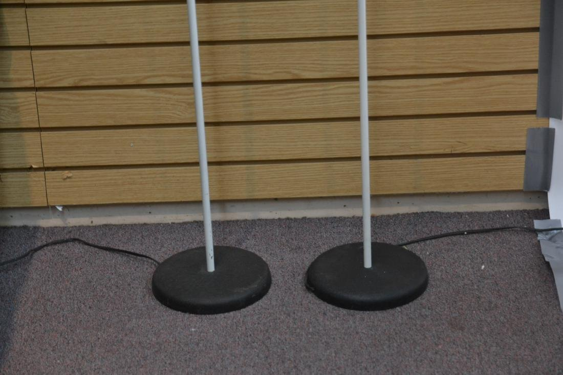 (Pr) SONNEMAN WHITE FLOOR SPOTLIGHT LAMPS - 5