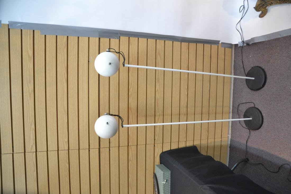 (Pr) SONNEMAN WHITE FLOOR SPOTLIGHT LAMPS - 6