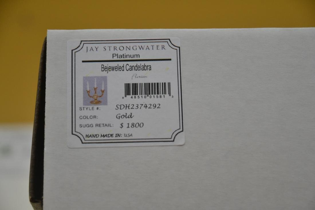 ENAMELED JAY STRONGWATER BEJEWELED TRIPLE - 7
