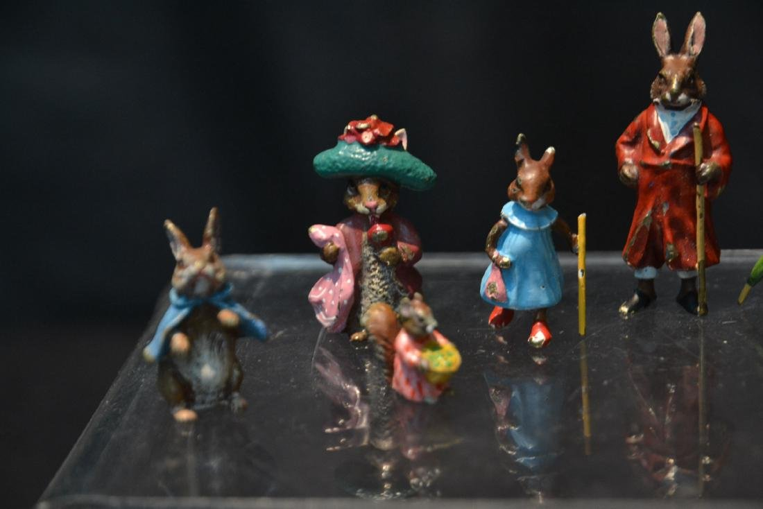 (7) COLD PAINTED BRONZE MINIATURES INCLUDING - 5