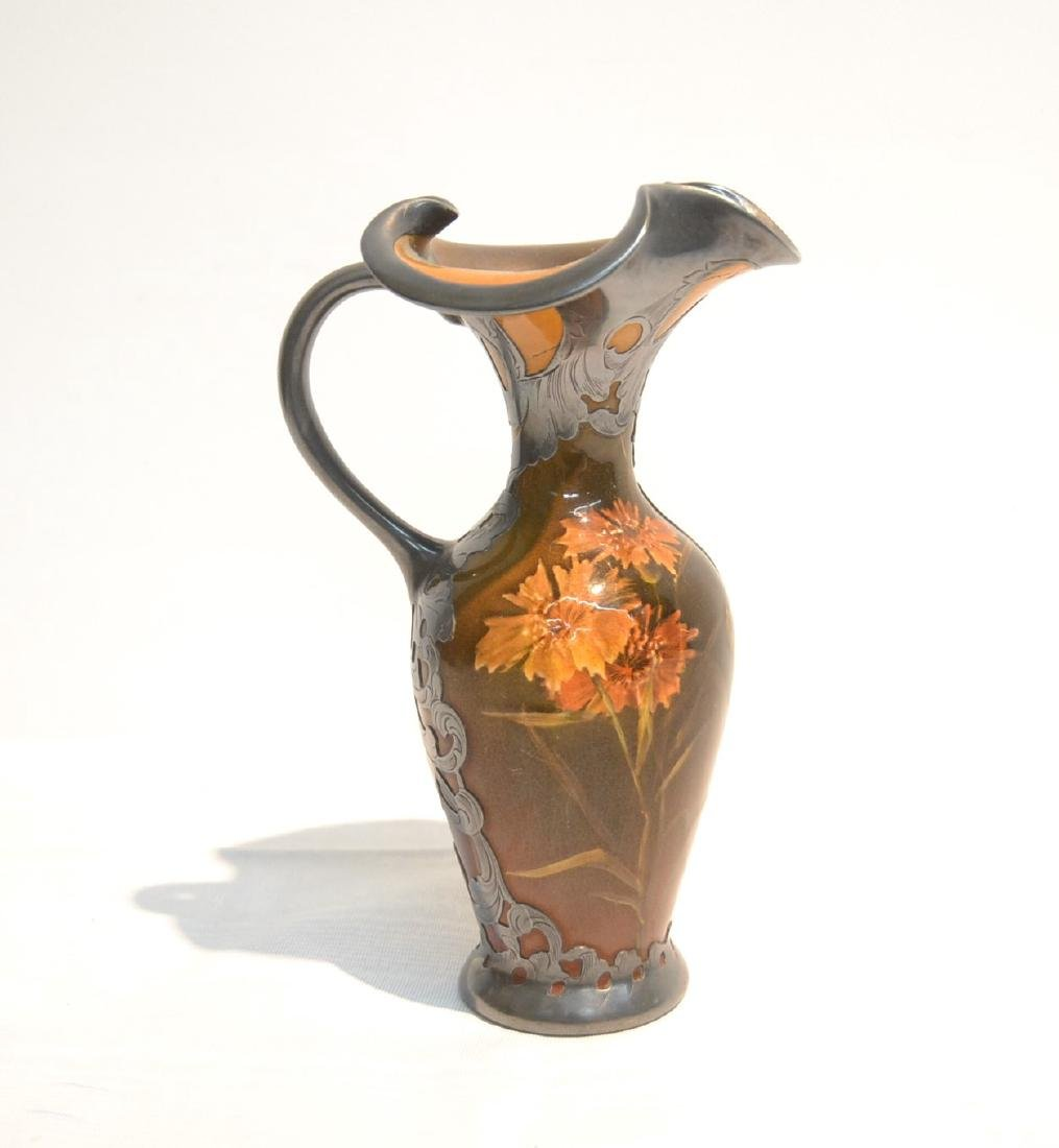 STERLING OVERLAY ROOKWOOD EWER