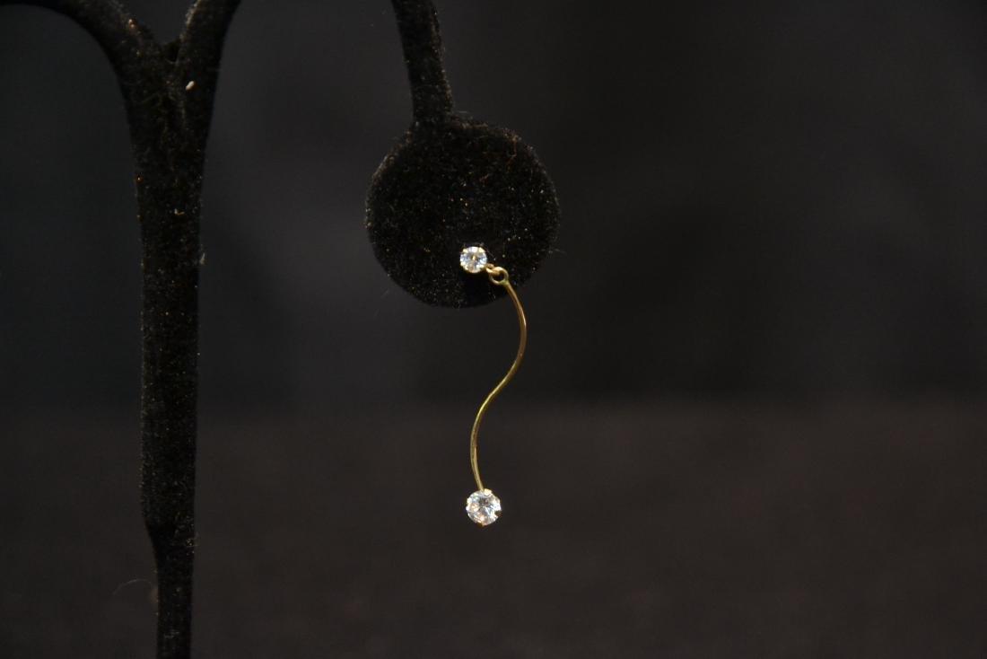 (Pr) 14kt DIAMOND EARRINGS - 5