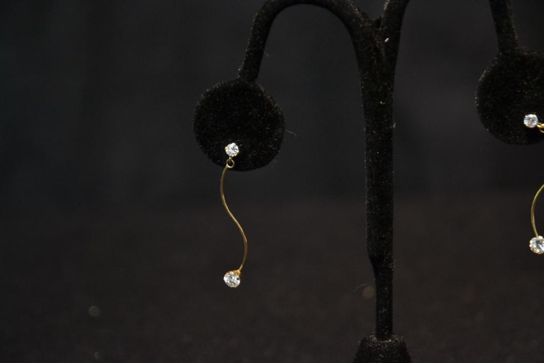 (Pr) 14kt DIAMOND EARRINGS - 6