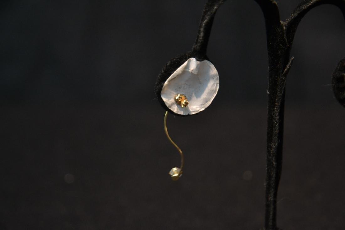 (Pr) 14kt DIAMOND EARRINGS - 7