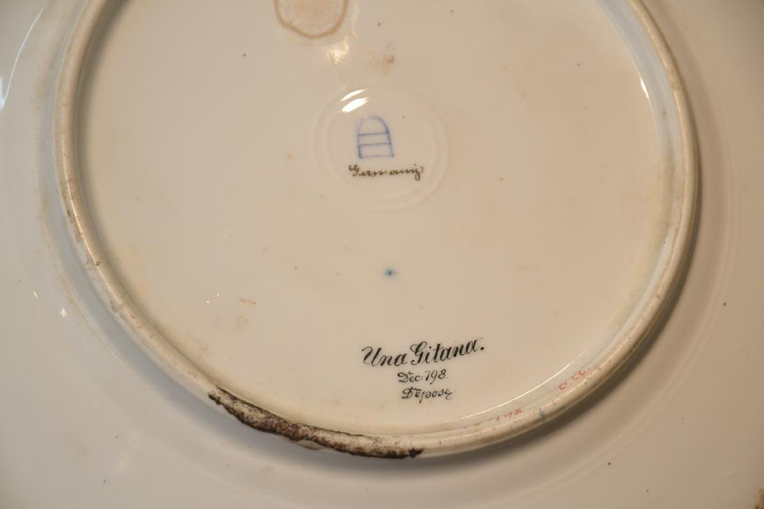 HAND PAINTED ROYAL VIENNA PORTRAIT PLATE OF - 10