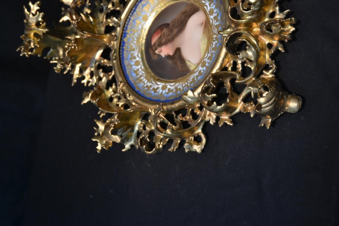 HAND PAINTED ROYAL VIENNA PORTRAIT PLATE OF - 3