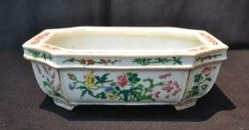 19thC CHINESE PORCELAIN FOOTED BOWL