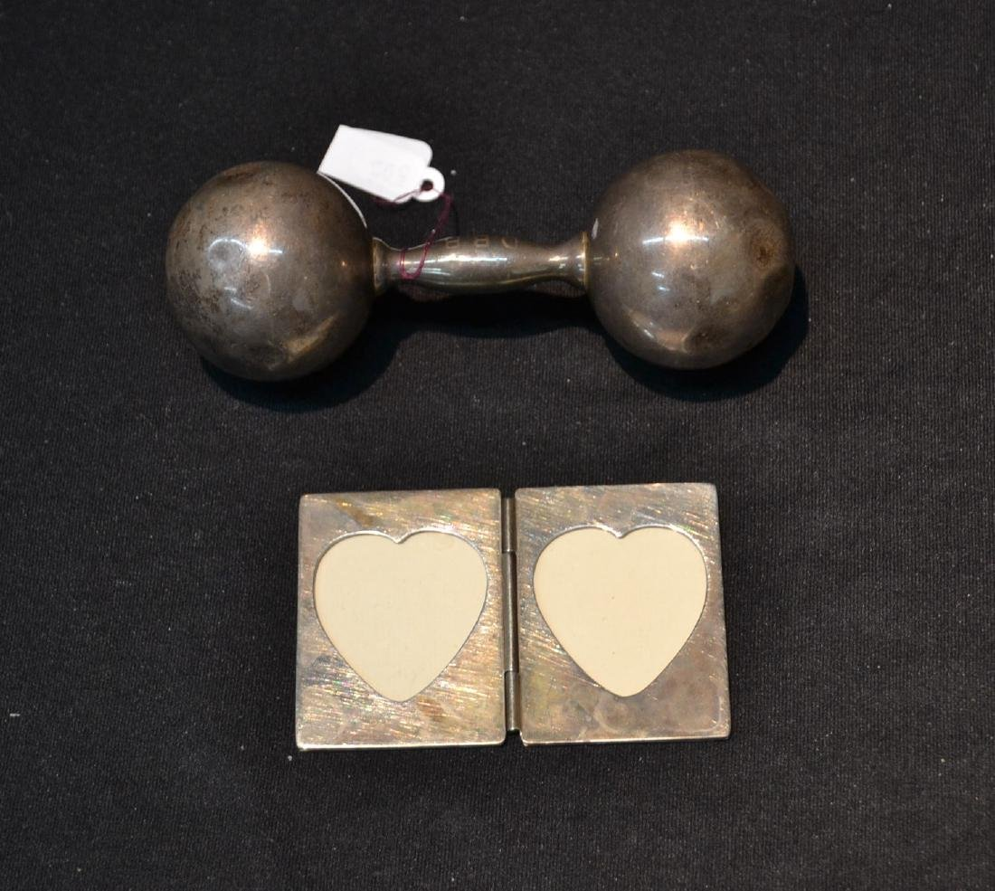 TIFFANY & Co.STERLING SILVER RATTLE & DOUBLE
