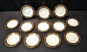 (12) Minton Tiffany & Co. Bread Plates With