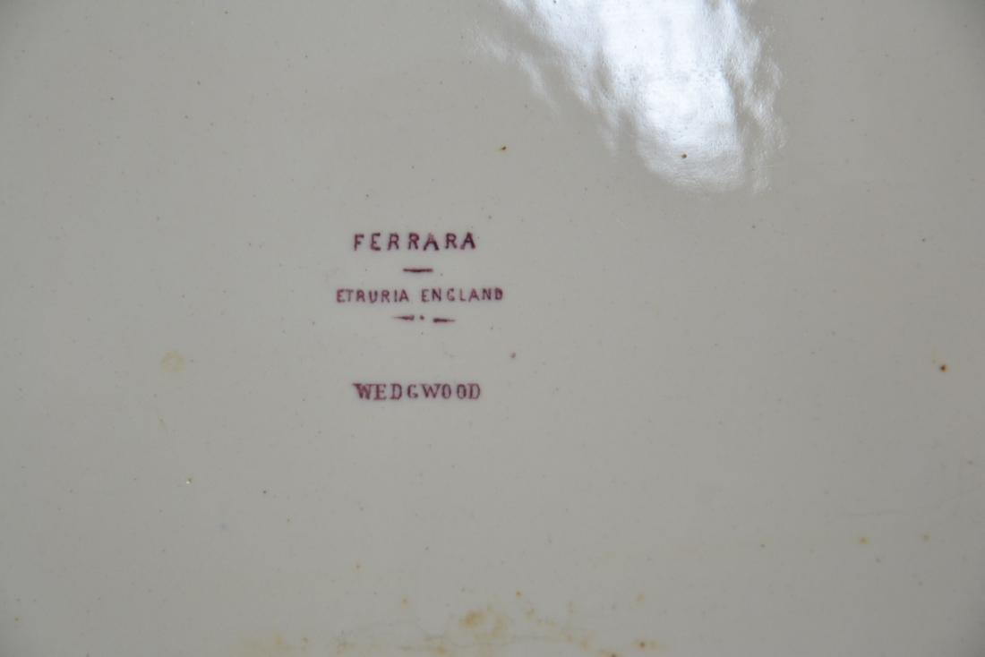 "WEDGWOOD ETRURIA ""FERRARA"" PATTERN DINNER SERVICE - 10"