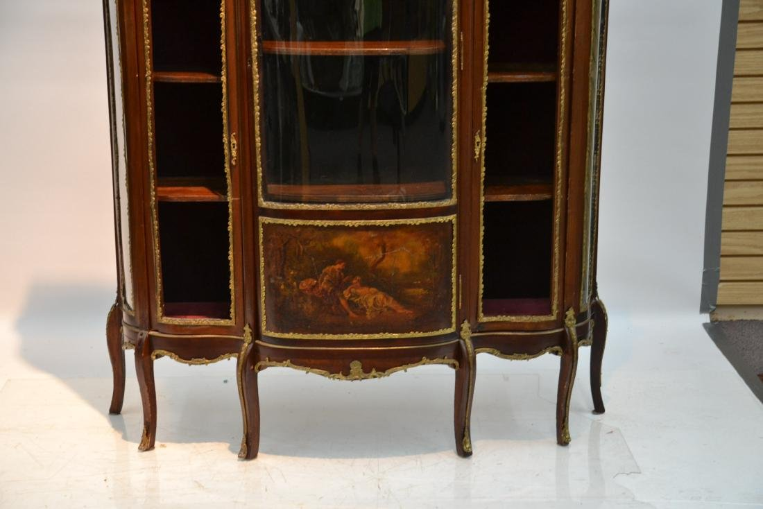 FRENCH VERNIS MARTIN BRONZE MOUNTED TRIPLE - 3