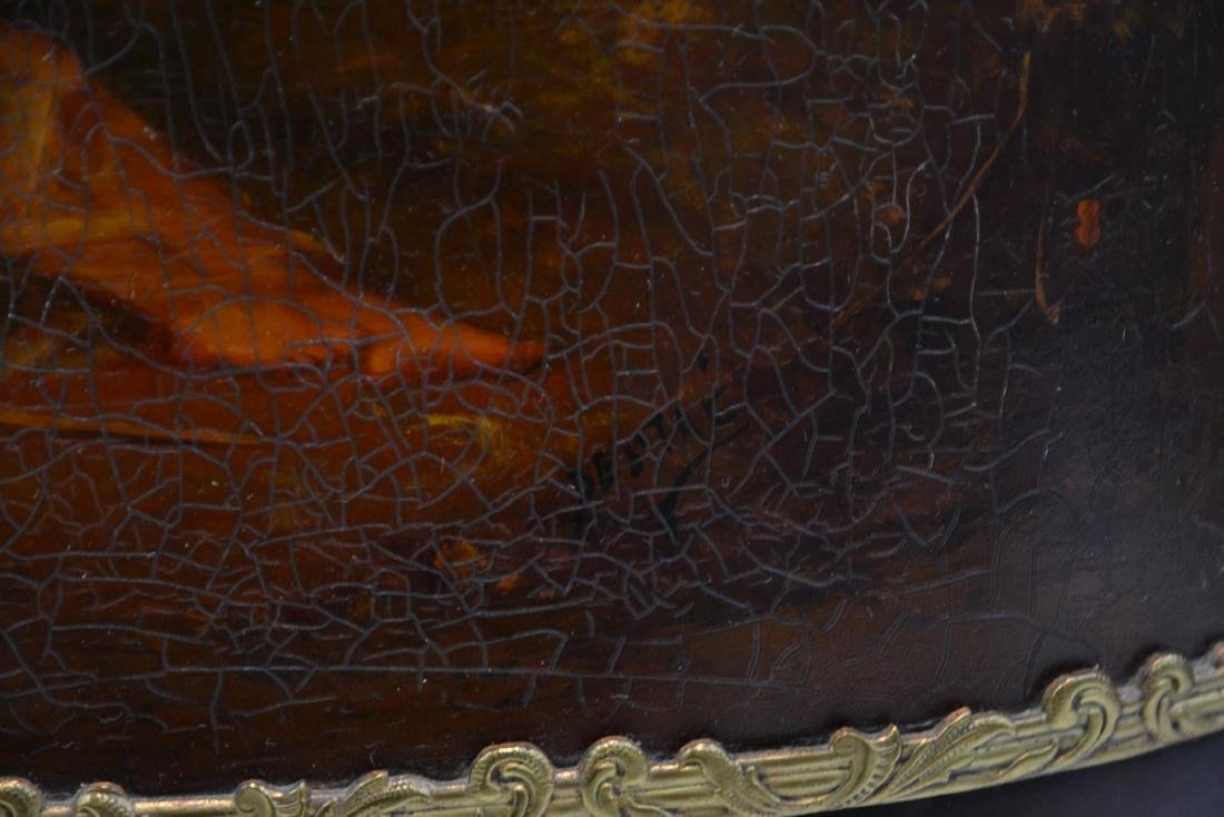 FRENCH VERNIS MARTIN BRONZE MOUNTED TRIPLE - 5