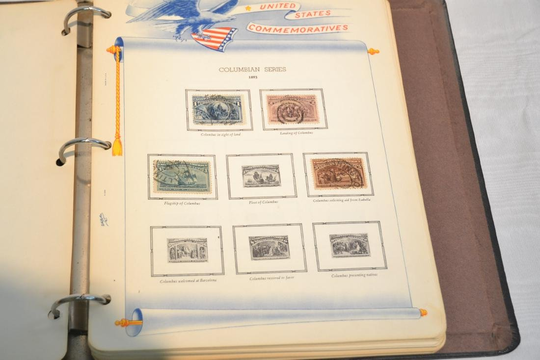 (2) FILES OF UNCUT STAMP SHEETS , THE IDEAL STAMP - 10