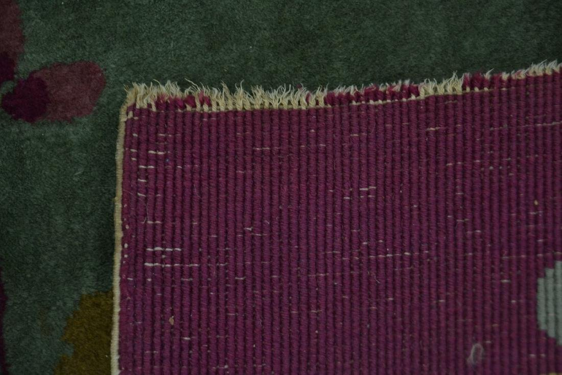 3' x 5' CHINESE DECO RUG WITH PLUM BORDER - 6