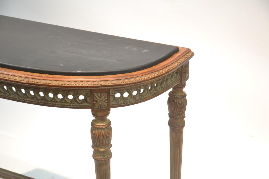 LXVI STYLE FRENCH CONSOLE WITH BLACK - 3