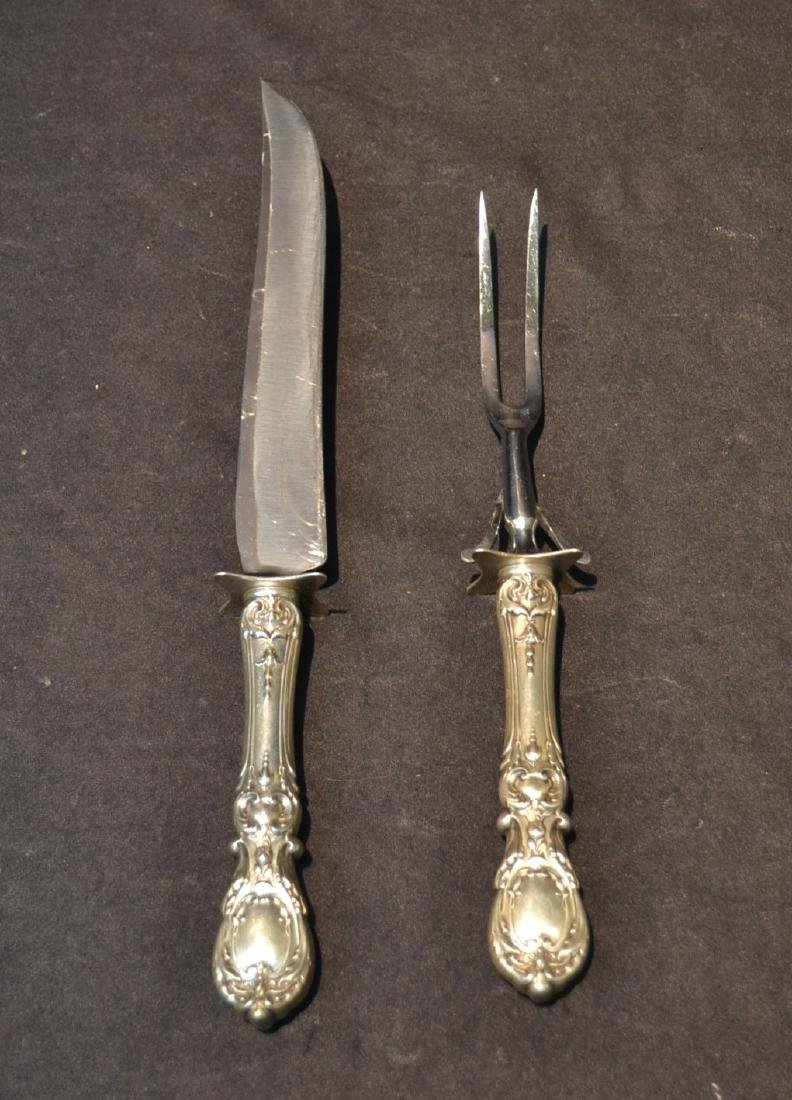 REED & BARTON FRANCIS THE 1st CARVING SET