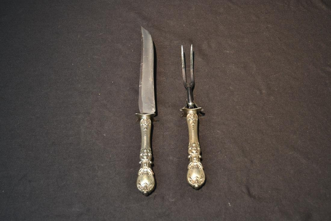 REED & BARTON FRANCIS THE 1st CARVING SET - 2