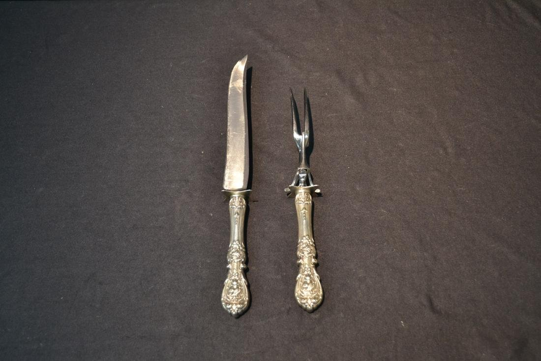 REED & BARTON FRANCIS THE 1st CARVING SET - 6