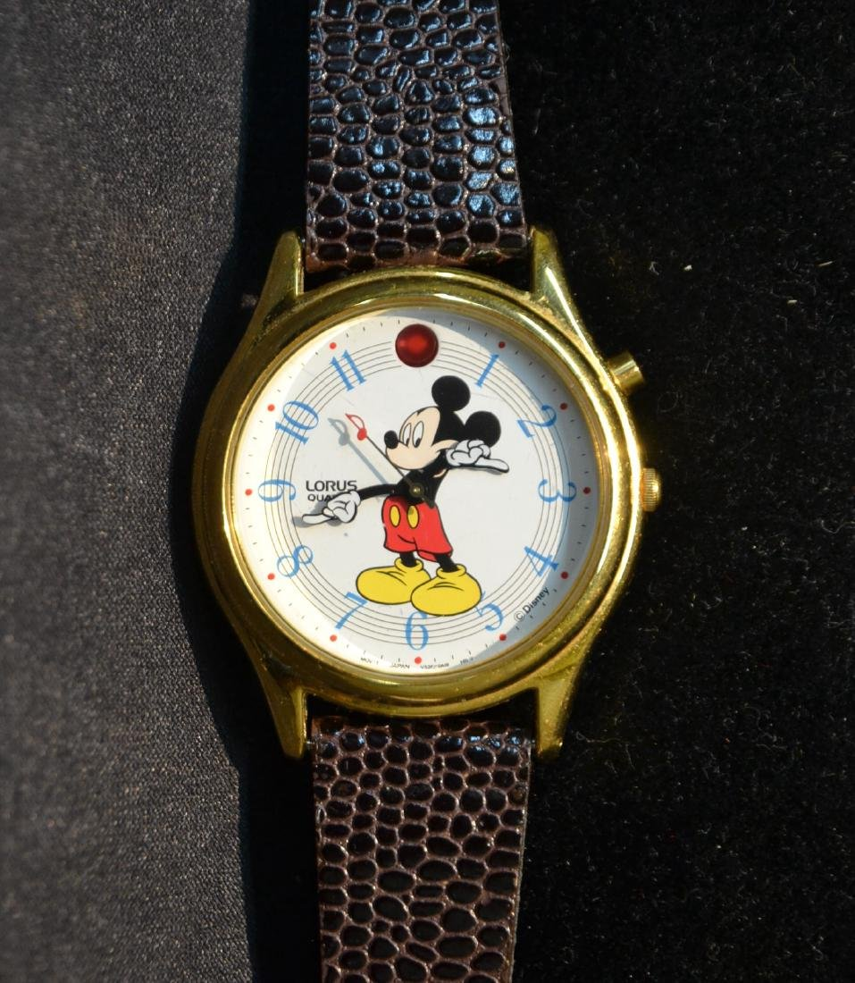 "LORUS MUSICAL MICKEY MOUSE WATCH - 1 1/2"" x 9"""