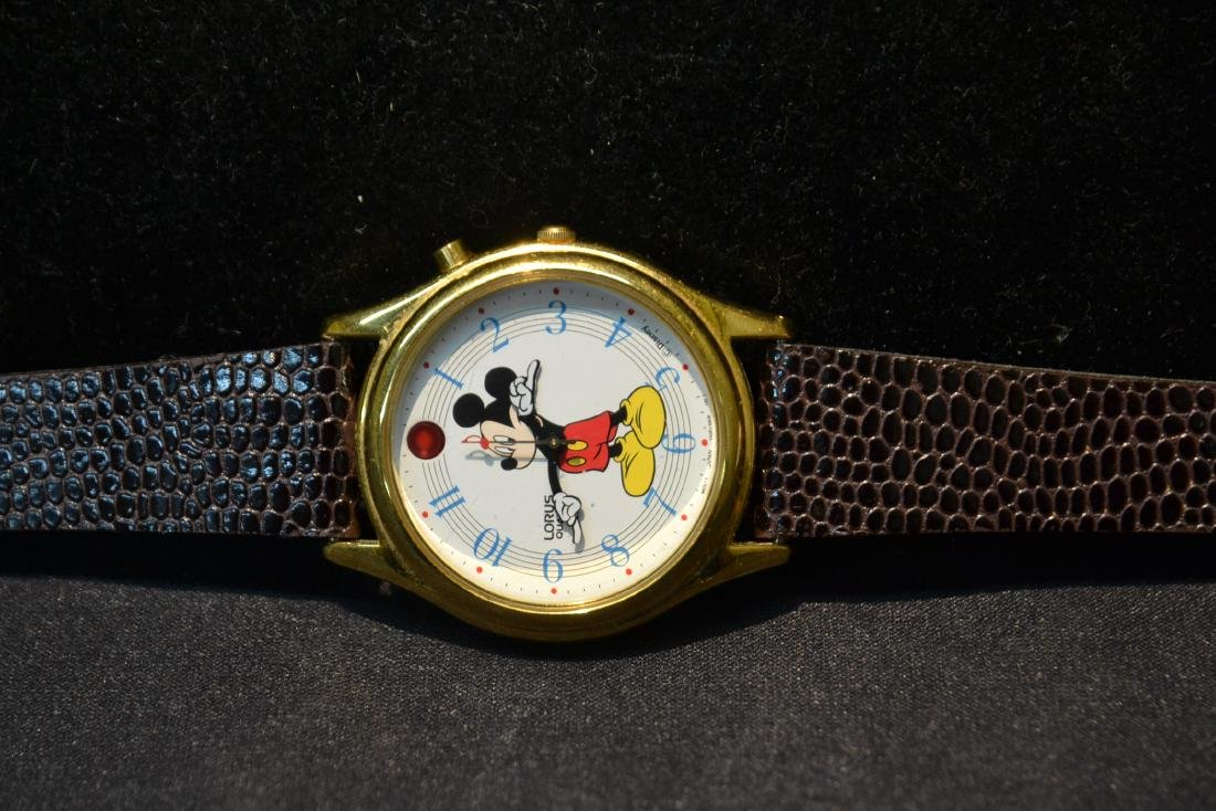 "LORUS MUSICAL MICKEY MOUSE WATCH - 1 1/2"" x 9"" - 2"