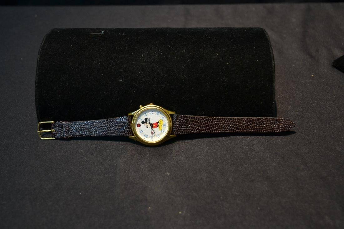"LORUS MUSICAL MICKEY MOUSE WATCH - 1 1/2"" x 9"" - 7"