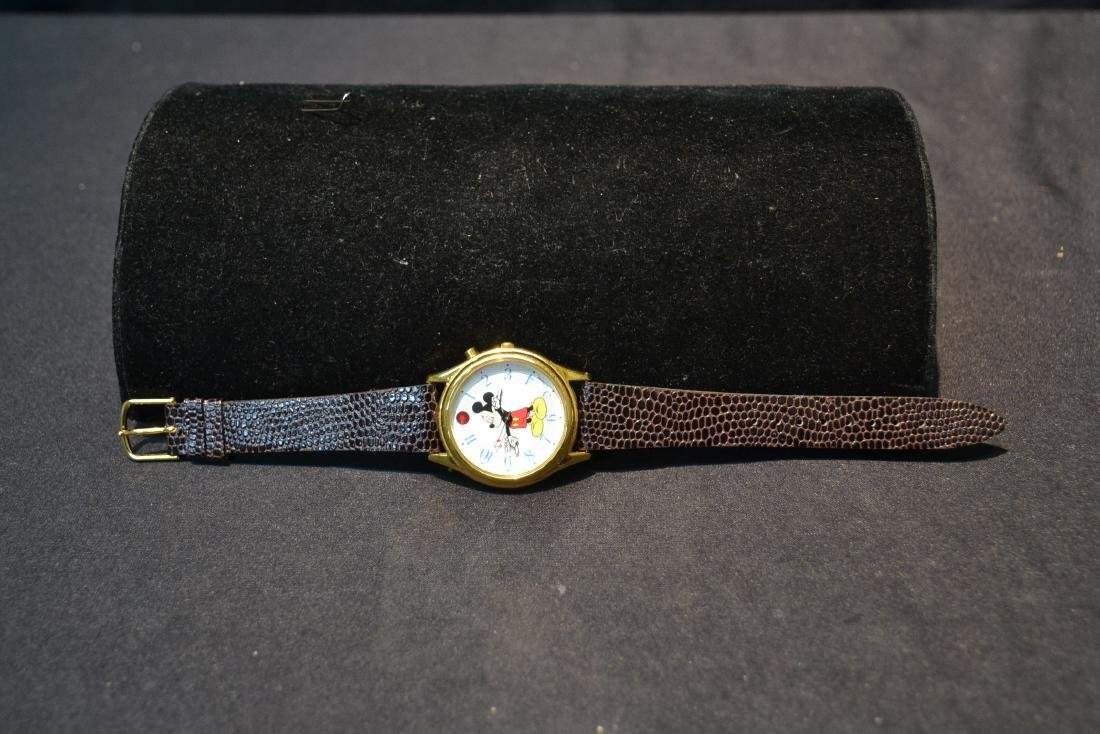 "LORUS MUSICAL MICKEY MOUSE WATCH - 1 1/2"" x 9"" - 8"