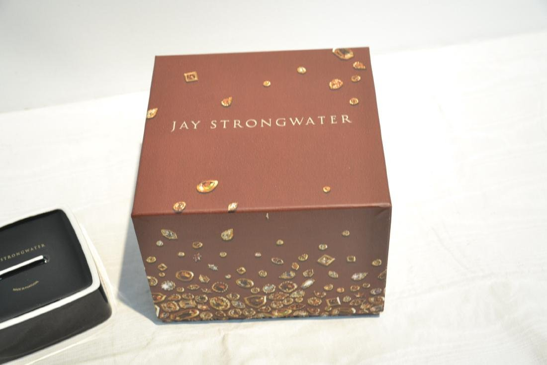 JAY STRONGWATER ENAMELED ZEBRA SEATED ATOP - 10