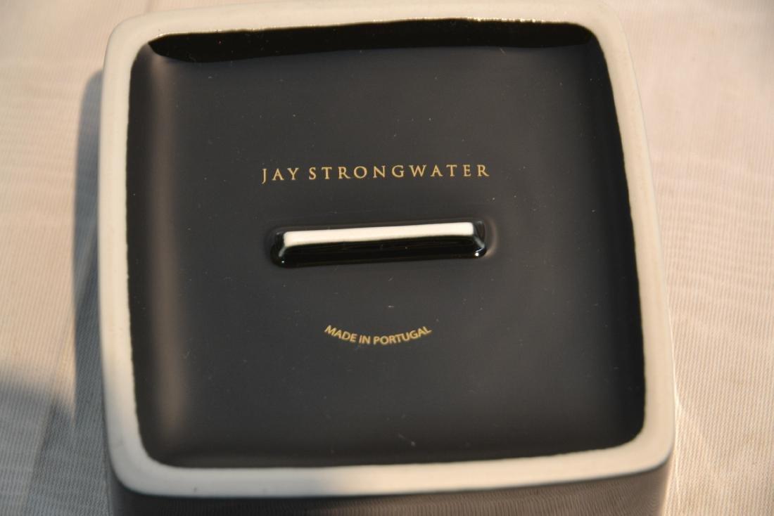 JAY STRONGWATER ENAMELED ZEBRA SEATED ATOP - 8