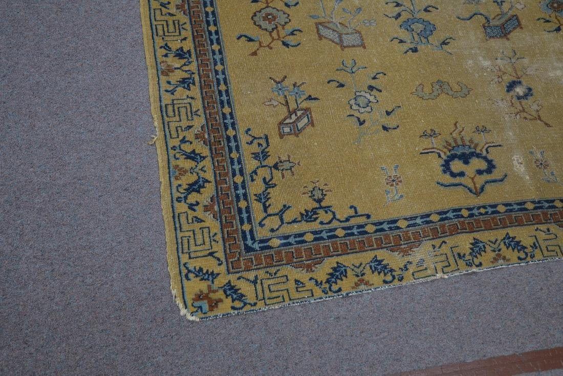 """5' 4"""" x 7' 10"""" INDO CHINESE RUG (SOME WEAR) - 3"""
