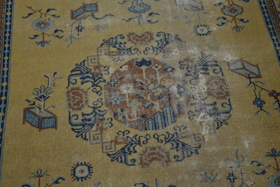 """5' 4"""" x 7' 10"""" INDO CHINESE RUG (SOME WEAR) - 6"""
