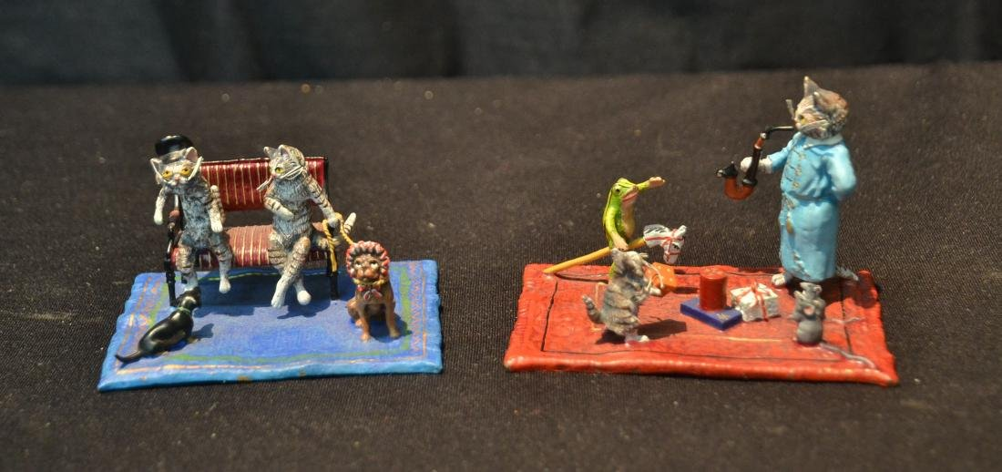 COLD PAINTED BRONZE MINIATURES INCLUDING