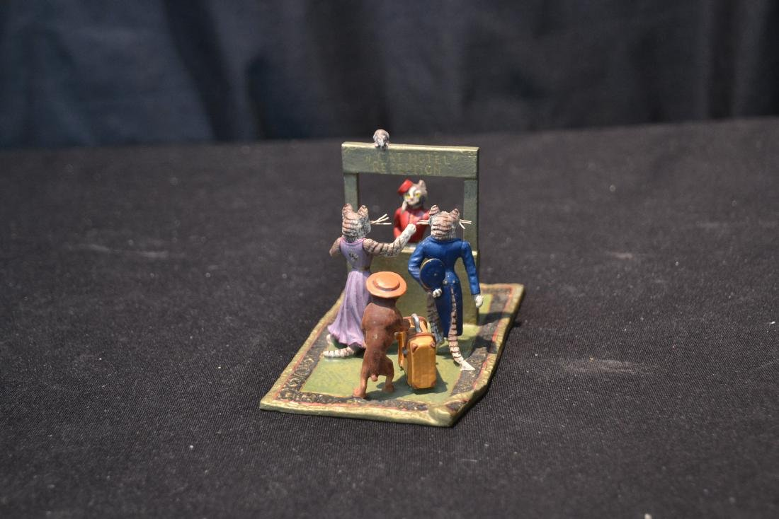 COLD PAINTED BRONZE MINIATURES INCLUDING - 6