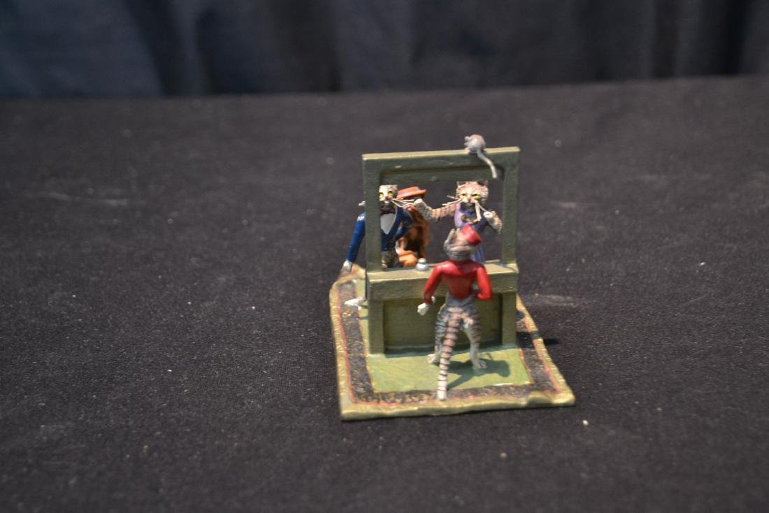 COLD PAINTED BRONZE MINIATURES INCLUDING - 7