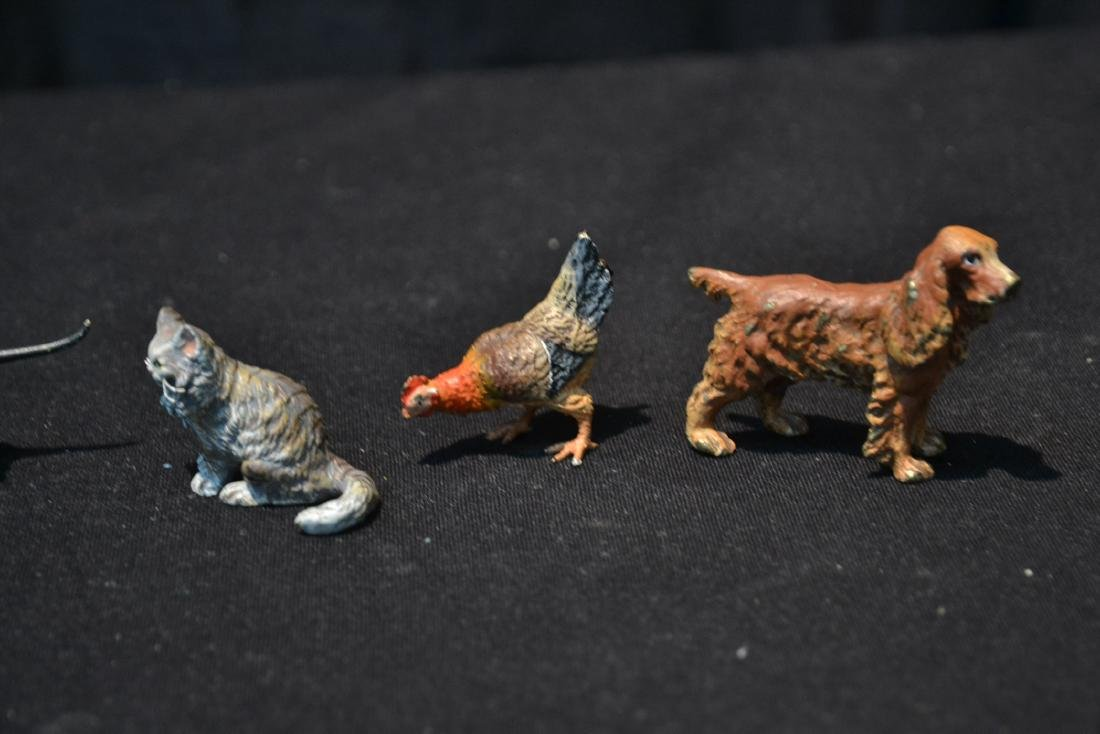 (7) ASSORTED COLD PAINTED BRONZE MINIATURES - 2