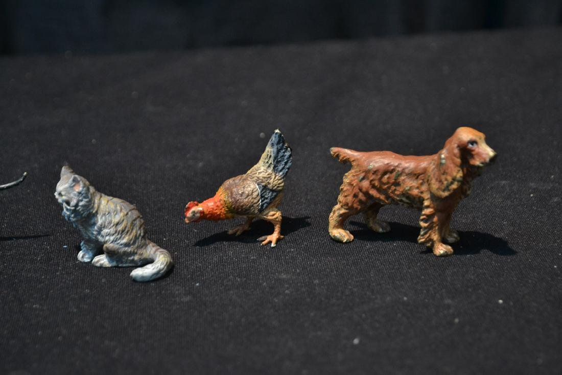 (7) ASSORTED COLD PAINTED BRONZE MINIATURES - 3