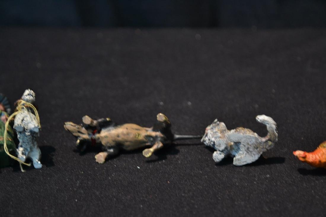 (7) ASSORTED COLD PAINTED BRONZE MINIATURES - 7